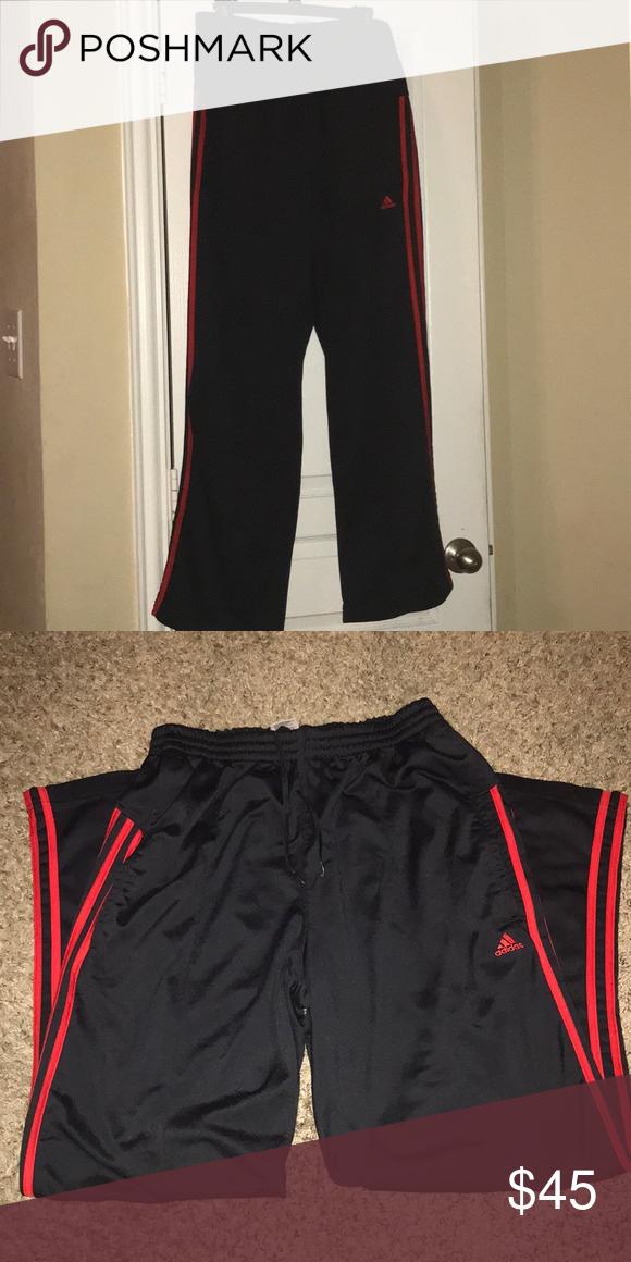 46c5b9189 Adidas sweatpants red/ black Black/red Adidas sweatpants adidas Pants  Sweatpants & Joggers