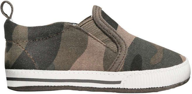 Joe Fresh Baby Boys' Slip On Sneakers, Khaki Green (Size 1 ...