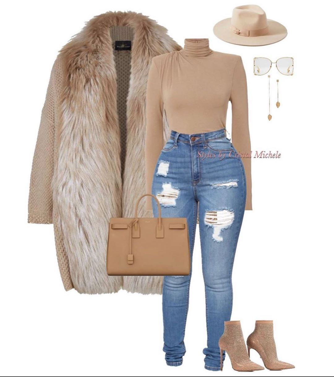 """Zerquera �� on Instagram: """"I hear it's cold in Atlanta..... here's a cute inspo look by my style sis @stylesbycristalmichele �FOLLOW️"""""""