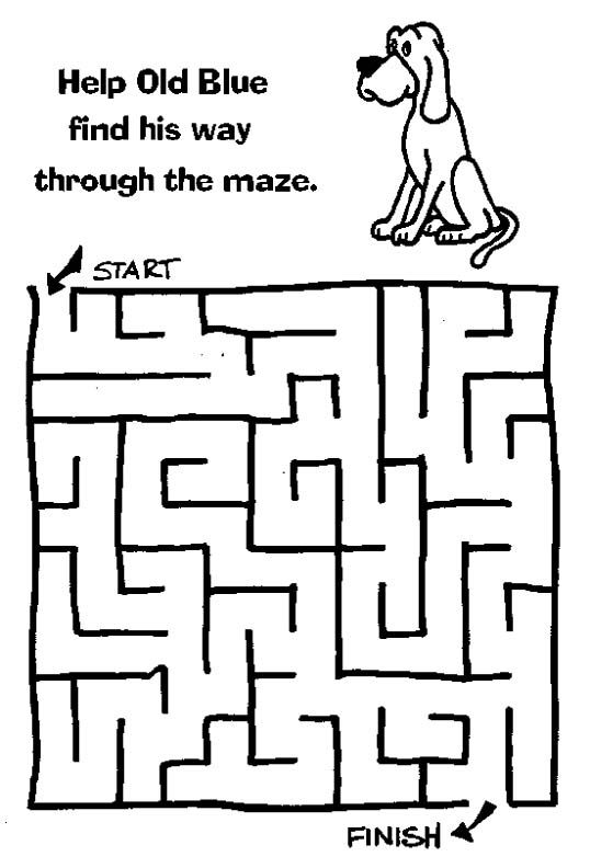 Christmas Maze Coloring Pages - GetColoringPages.com