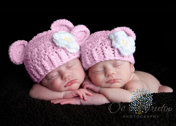 Newborn hat 0 to 1 months baby girl hat baby crochet flapper beanie white with rose pink and yellow flower great for photography props