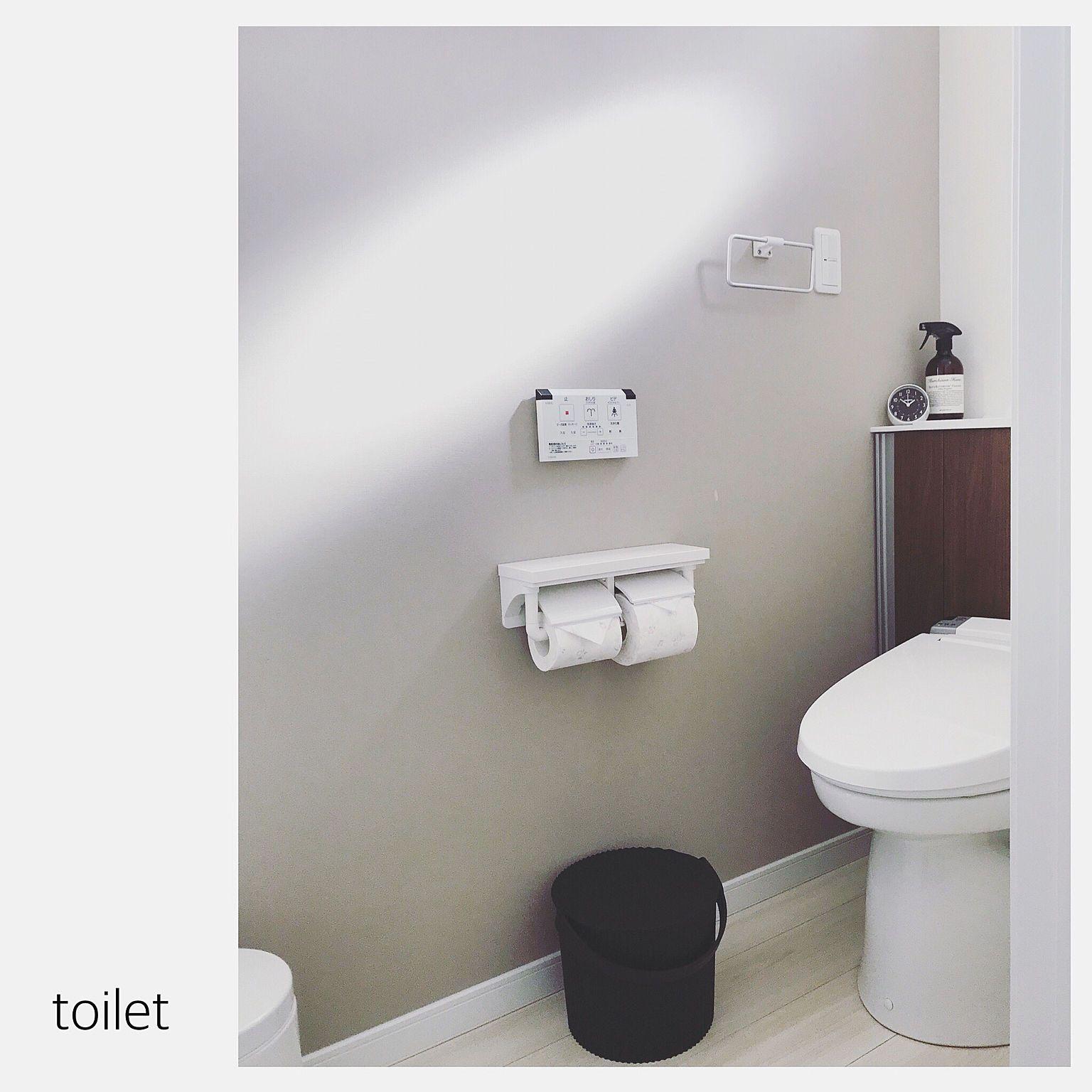 バス トイレ アクセントクロスグレー アクセントクロス トイレ
