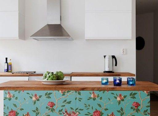 Wallpaper An Island House Kitchen Wallpaper Wallpaper Kitchen