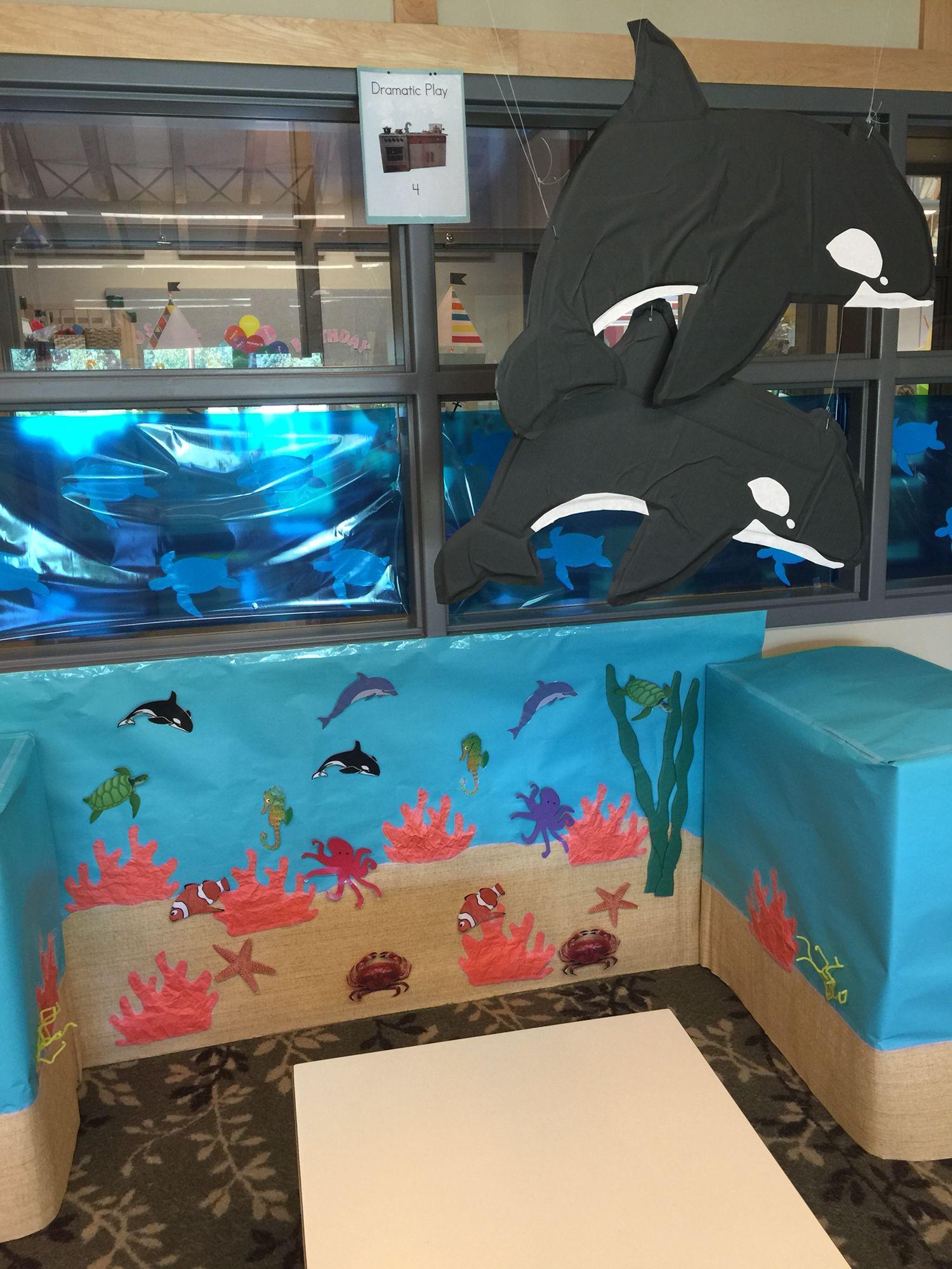 Ocean Aquarium Dramatic Play