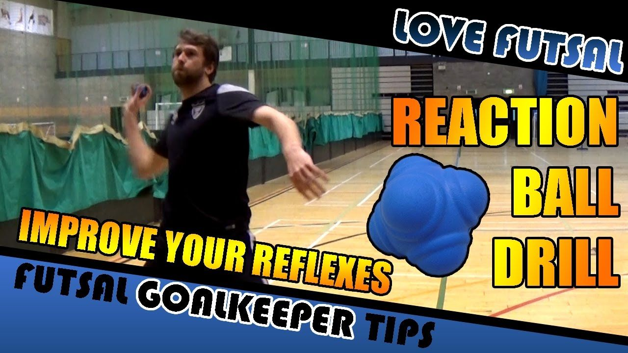 Reaction Ball Drill How to Improve your Futsal