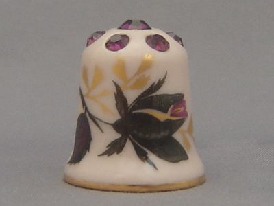 Thimble Craft by Shirley Thimble - Ebony Rose