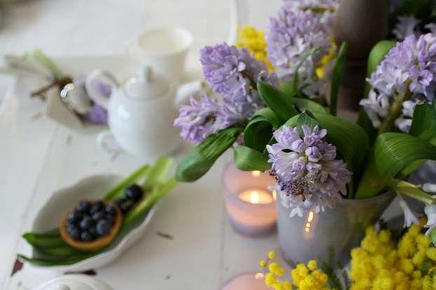 Coffè and flowers