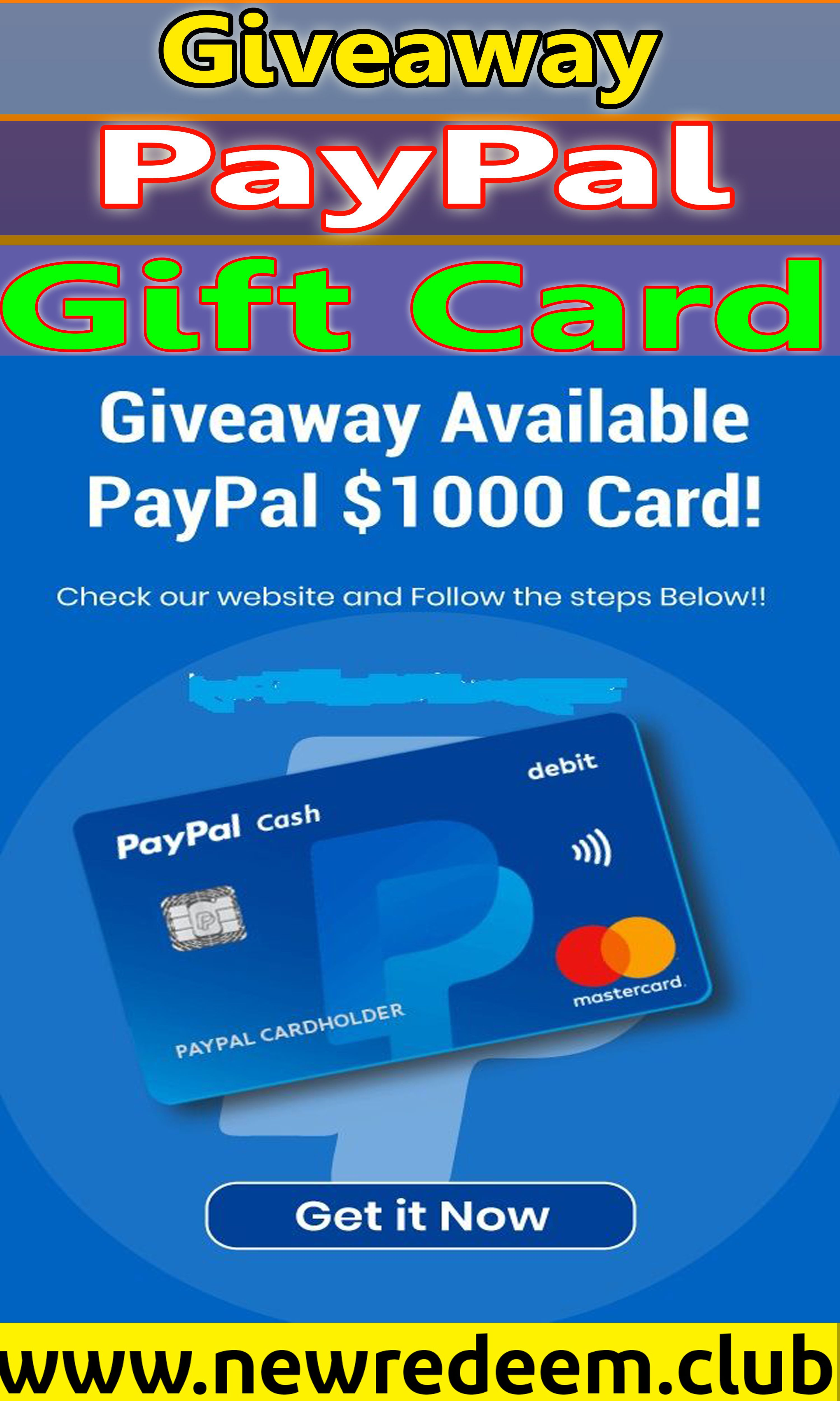 Win a 1000 paypal gift card giveaway in 2020