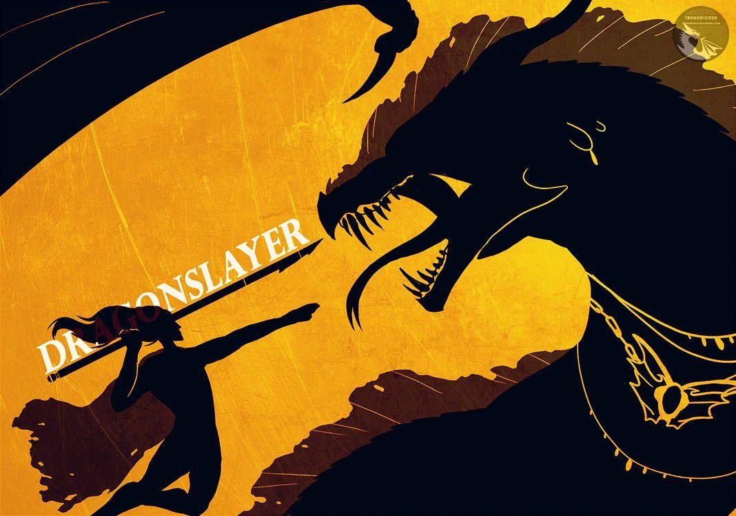 Dragonslayer By Https Www Deviantart Com Trunswicked On