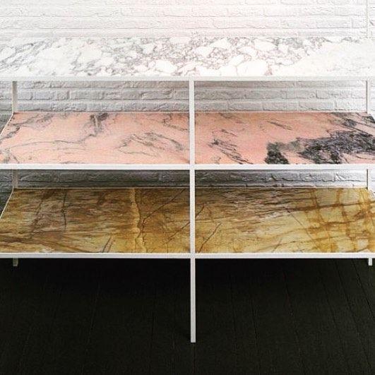 Details and textures. @mullervanseveren beauty. #mullervanseveren #shelves #texture #colour #color #inspo #interior #interiors #design #furniture #interiordesign #interiordecor #interiorstyling by insidertradingco