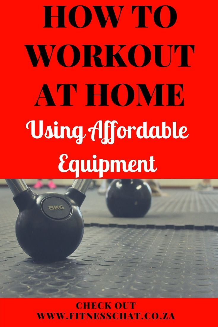 Essential equipment for building a home gym on a budget #exerciseequipment Do you need to workout fr...