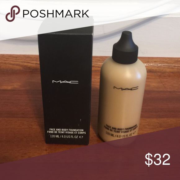 mac face and body foundation c3 never used my posh picks