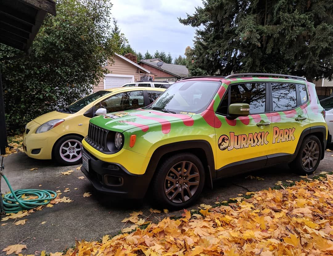 Both Of My Kids Jeep Jeeprenegade Renegade Toyota