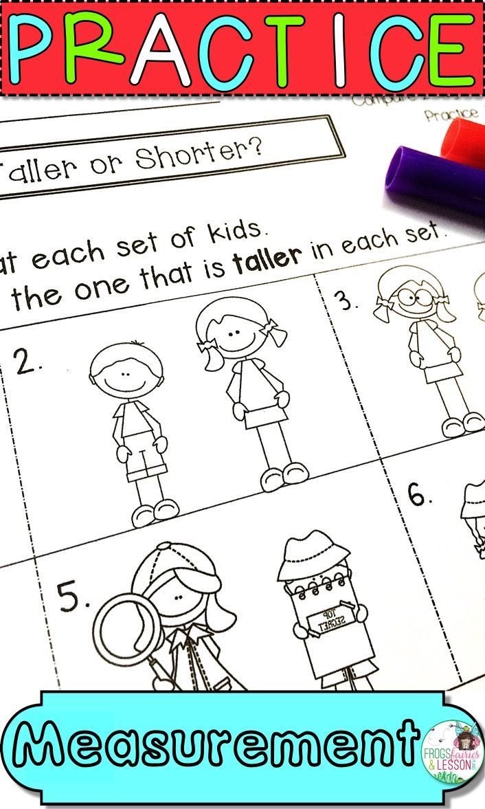 First Grade Measurement Pinterest Math Worksheets Common Cores