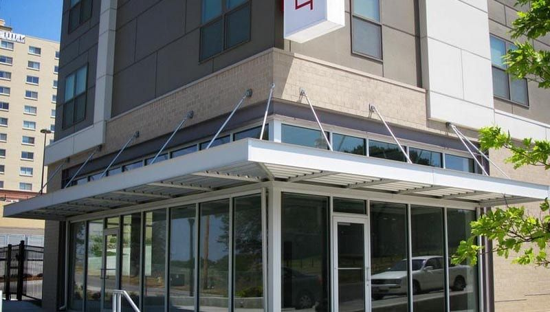 Architectural Metal Canopies A Hoffman Awning Co Metal Canopy Architecture Canopy