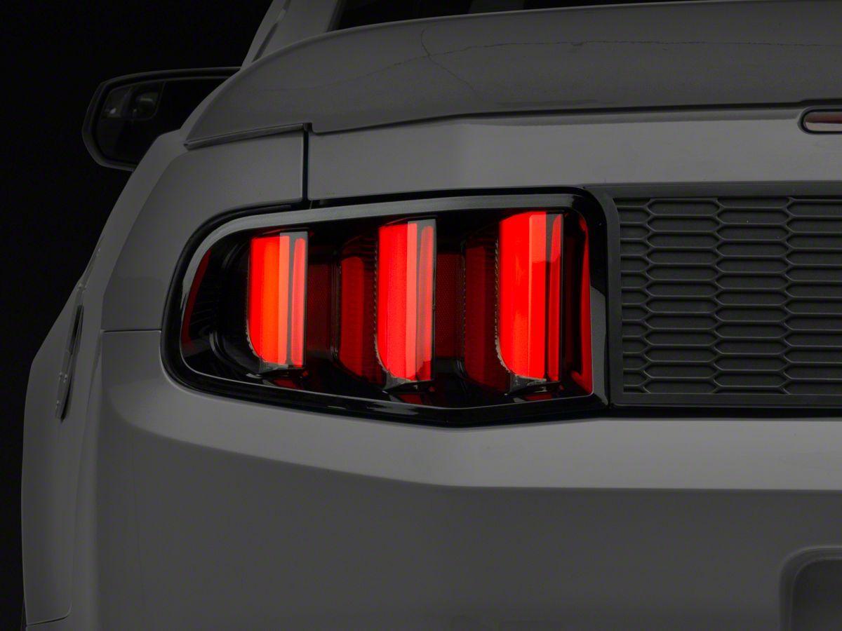 Raxiom Mustang Vector V2 Led Tail Lights 405839 10 12 All Led Tail Lights Tail Light Lights