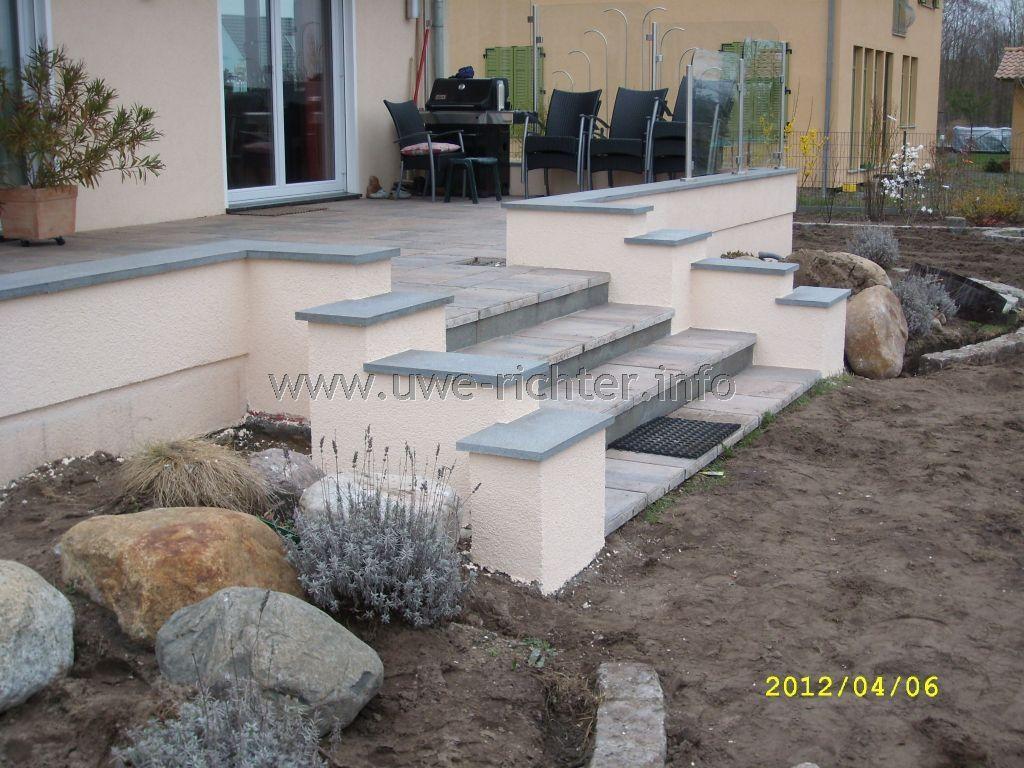 Umbau terrasse terrasse pinterest terrasse umbau - Terrasse hoher als garten ...