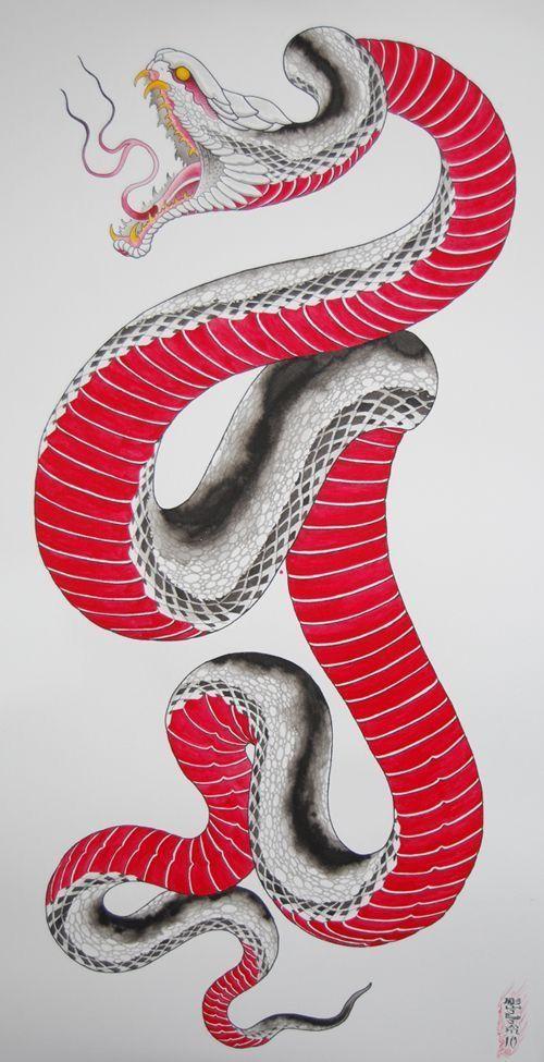 Epingle Par Le Baccon Sur Nuage Dessin Serpent Tatouage