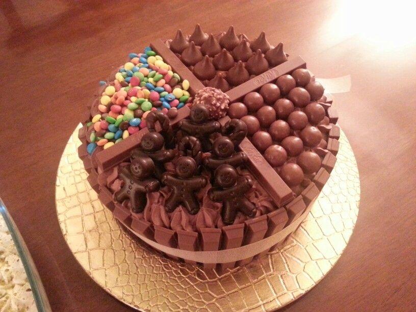كيكة الكتكات Kitkat Cake Cake Cake Toppings Kitkat Cake