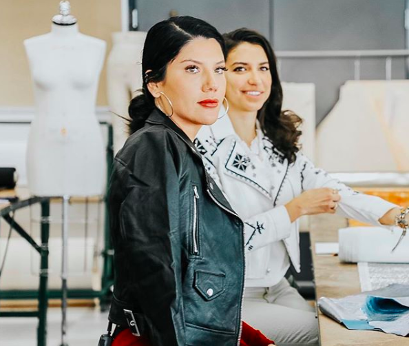 Honored To Have Lauramellado At Fidm Today To Work On A Special Project Stay Tuned To Learn More An Top Fashion Schools Fashion Merchandising Fashion Design