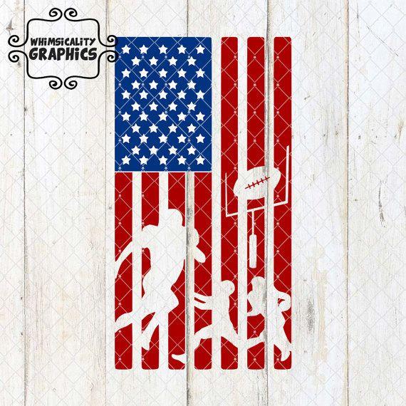 American Flag Football Svg Dxf Png Eps Sublimation Instant Etsy American Flag Football American Flag Flag
