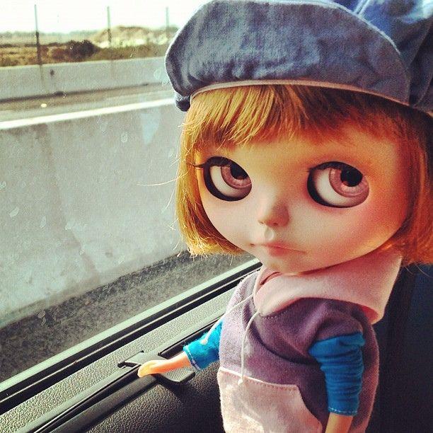 ~ altered Blythe Doll by Rafael R. Girona
