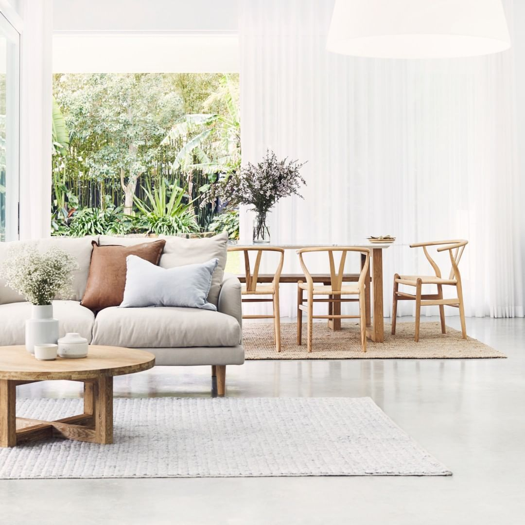 Lounge Lovers On Instagram Discover This Seasons Hottest Trend Modern Coastal Natural In 2020 Coastal Interiors Design Interior Design Styles Living Room Designs