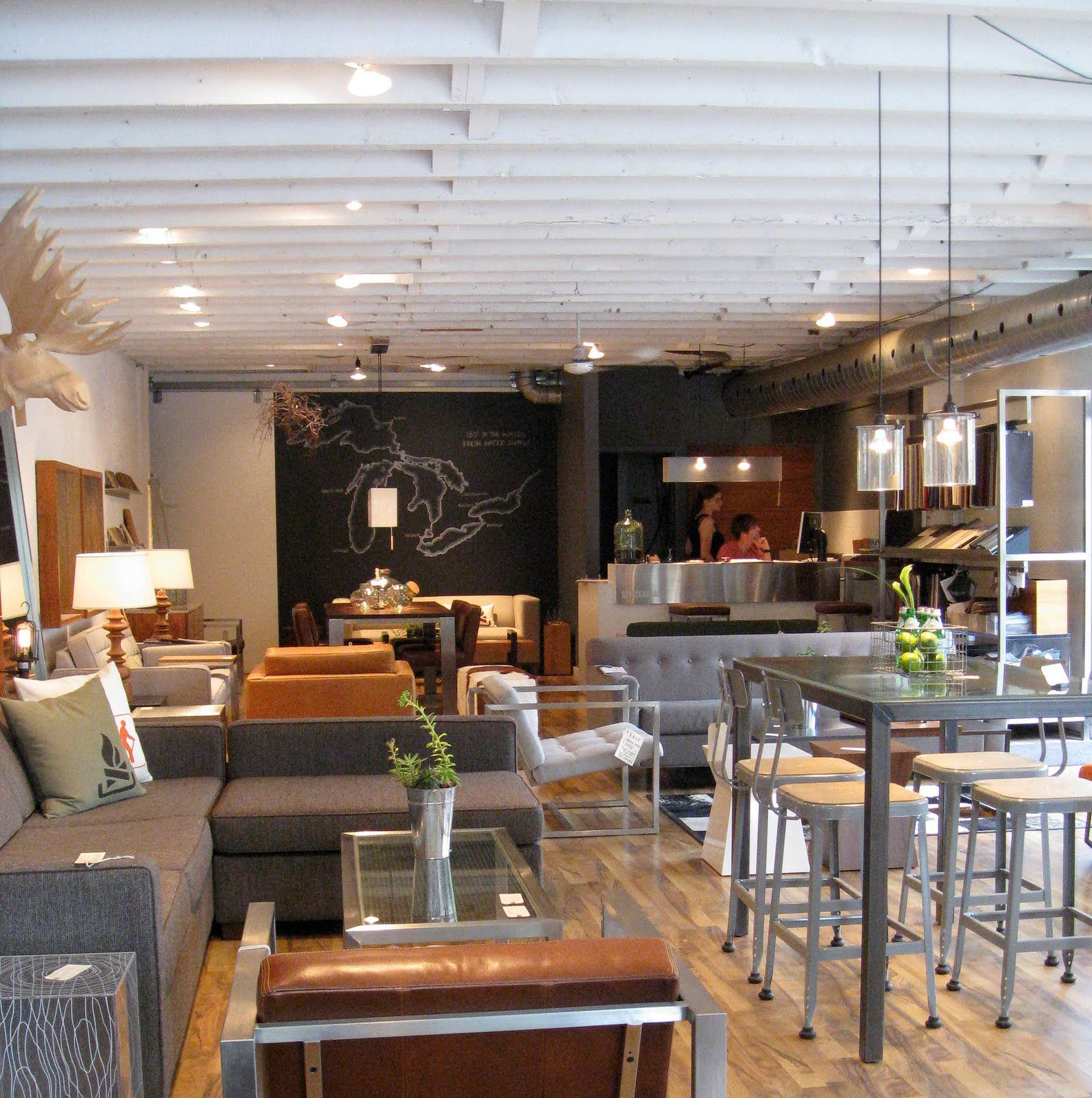 style garage modern design lots of canadian made products cool