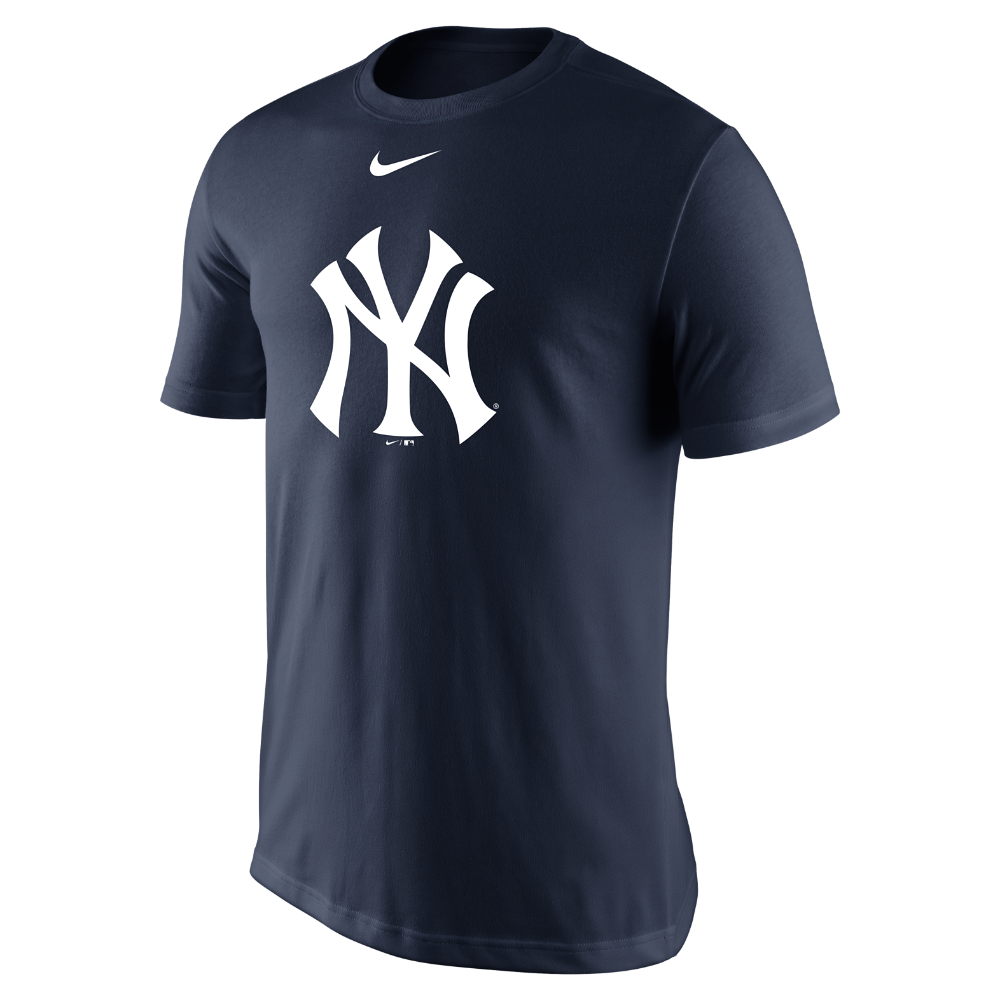 Nike Legend Logo (MLB Yankees) Men s T-Shirt Size Medium (Blue ... 123540edec8