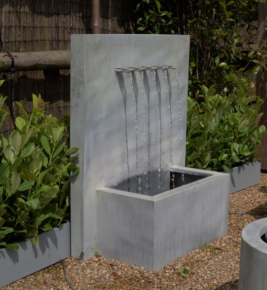5 Spout Fountain Www Landscaping Co Uk Water Features In The Garden Water Features Building Raised Beds