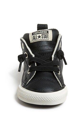 converse leather bebe