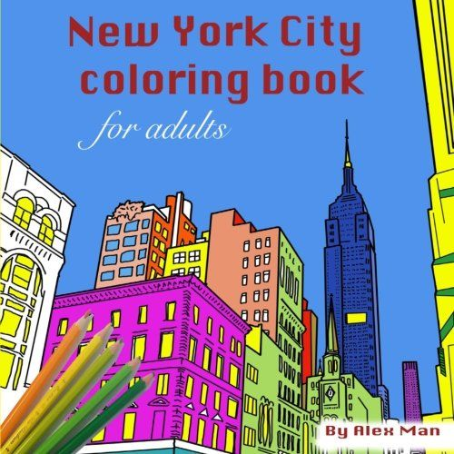 New York City Coloring Book For Adults Books