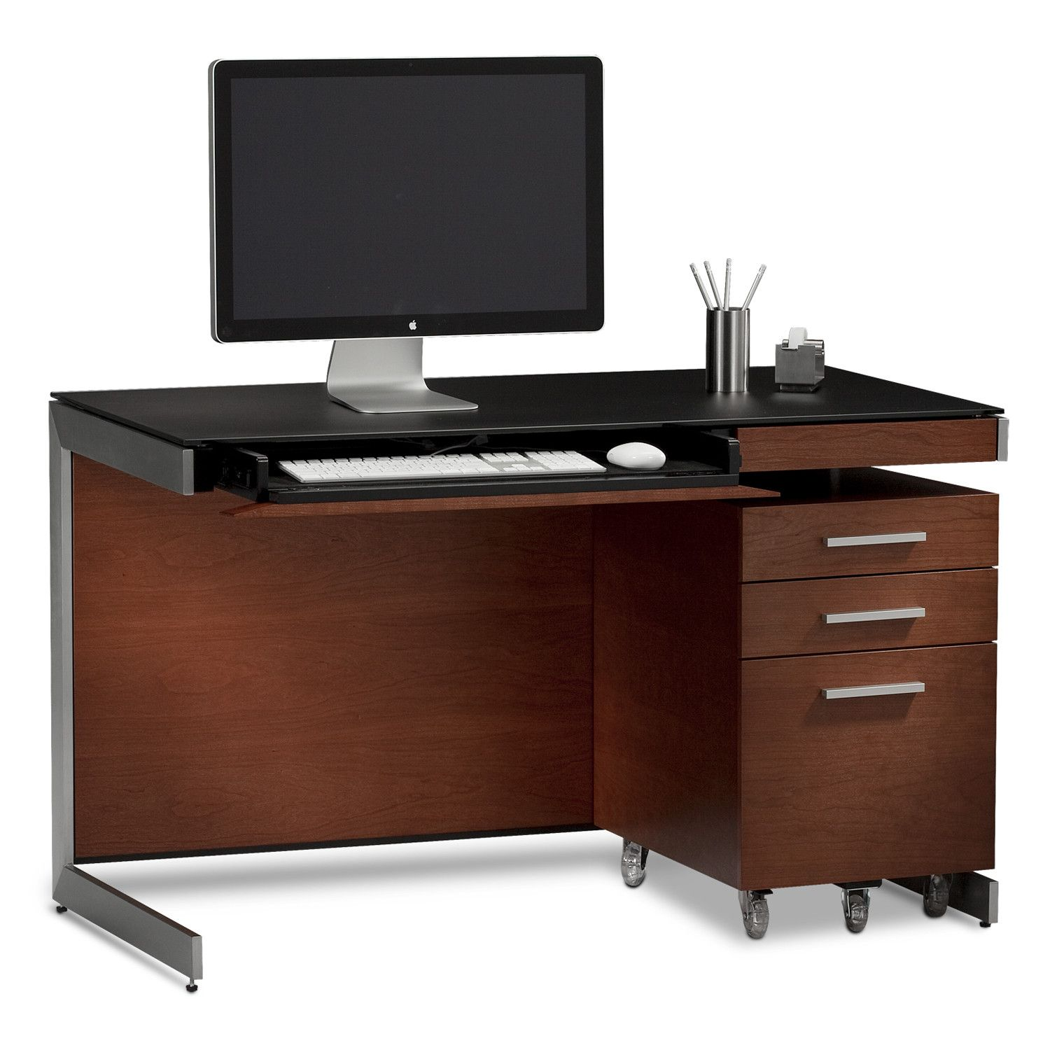 Sequel Compact Desk Without Back Panel Small Computer Desk Computer Desk Design Modern Executive Desk