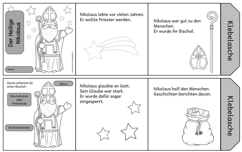 Leporello Zum Heiligen Nikolaus Bereits Im Letzten Jahr Habe Ich Ein