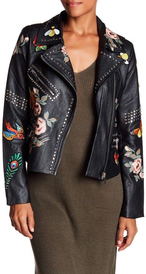 ec64c20de2e6 Bagatelle Studded Faux Leather Jacket   Products