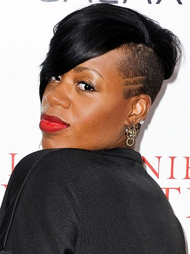 Fantasia Hairstyles fantasia barrino hairstyles fantasia barrino and long hairstyle Add Some Lines Into Your Fade Like This Former American Idol Undercut Halfshavedhead