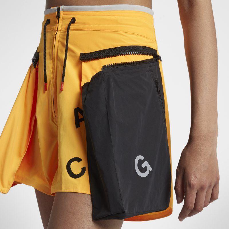 NikeLab ACG Women s Cargo Shorts - Orange Cargo Shorts Women c35d10268d