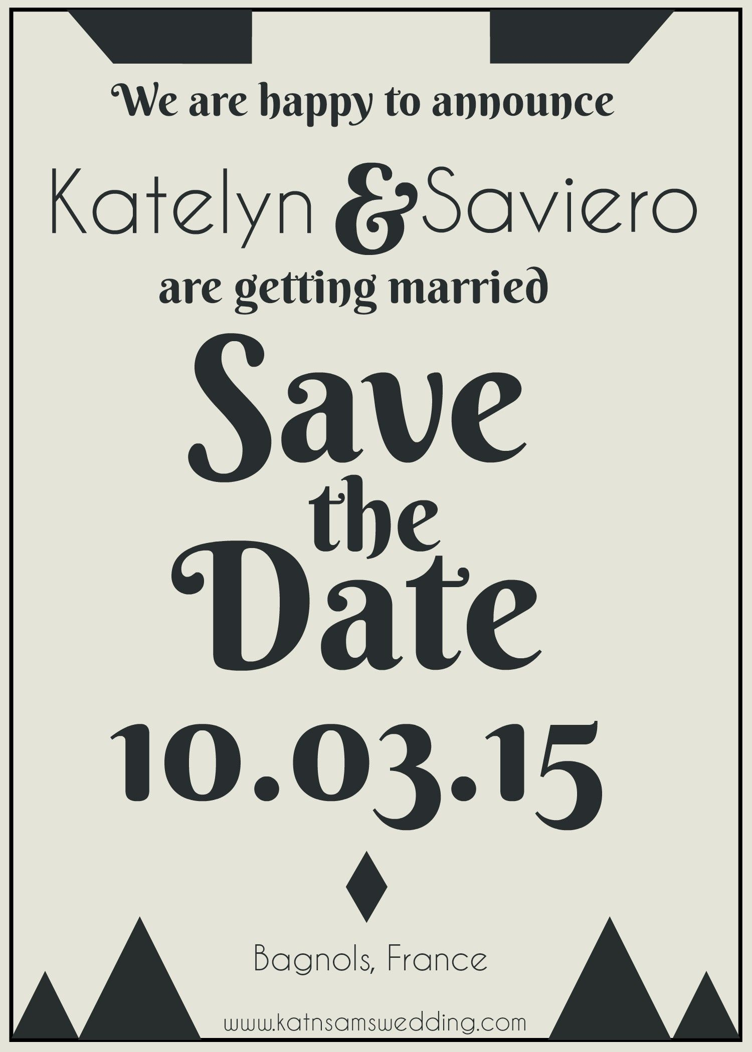 Diy Save The Date Templates For Your Wedding Use Them As A Creative Starting Point Or Simply Click Type Perfect Befunky Graphic Designer