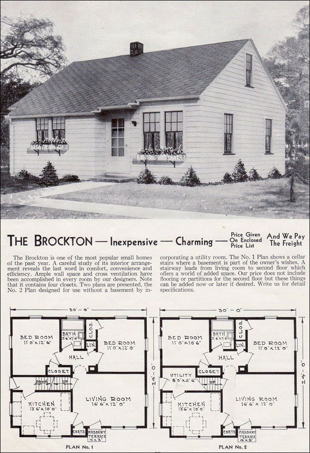 Minimal Traditional Ranch Style House Plans Bungalow House Plans Vintage House Plans