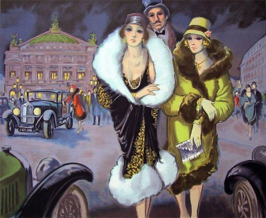 Masterpiece of Art: Francois Batet _ Art Déco painter