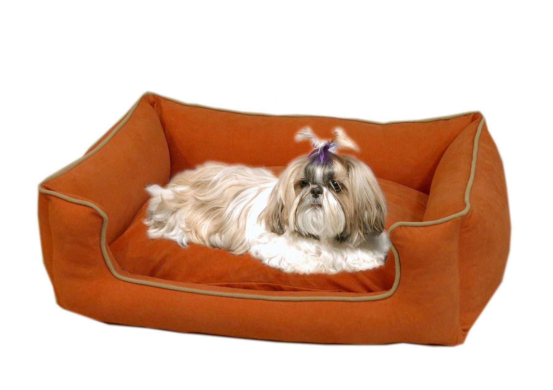 Low Profile Kuddle Lounge Bolster Pet Bed II Dog bed