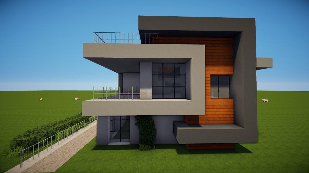 20 Besten Ideen Minecraft Modernes Haus Bauen Beste Wohnkultur Bastelideen Coloring Und Minecraft Modern Minecraft Modern Mansion Minecraft House Designs