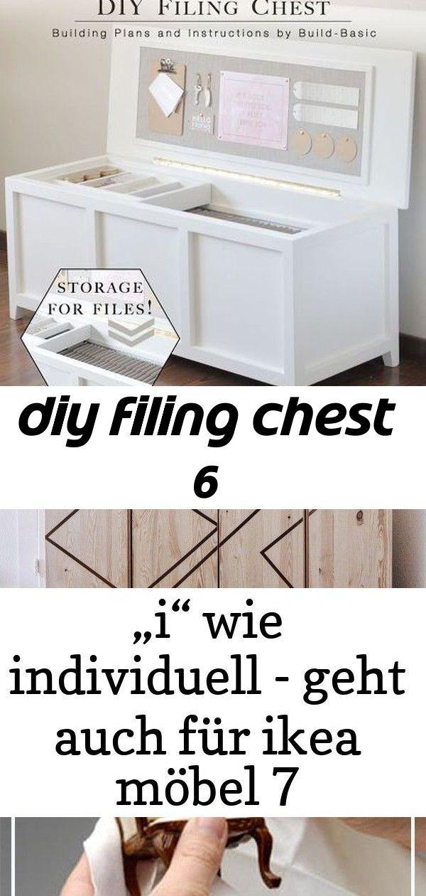 Diy Filing Chest 6 Storage Ikea Decor