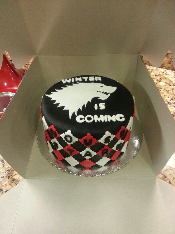 Game Of Thrones Cake Cakes Pinterest Cake Birthday cakes and