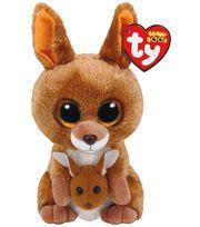 TY Beanie Boo Brown Kangaroo-Kipper  1a6c68968e0e