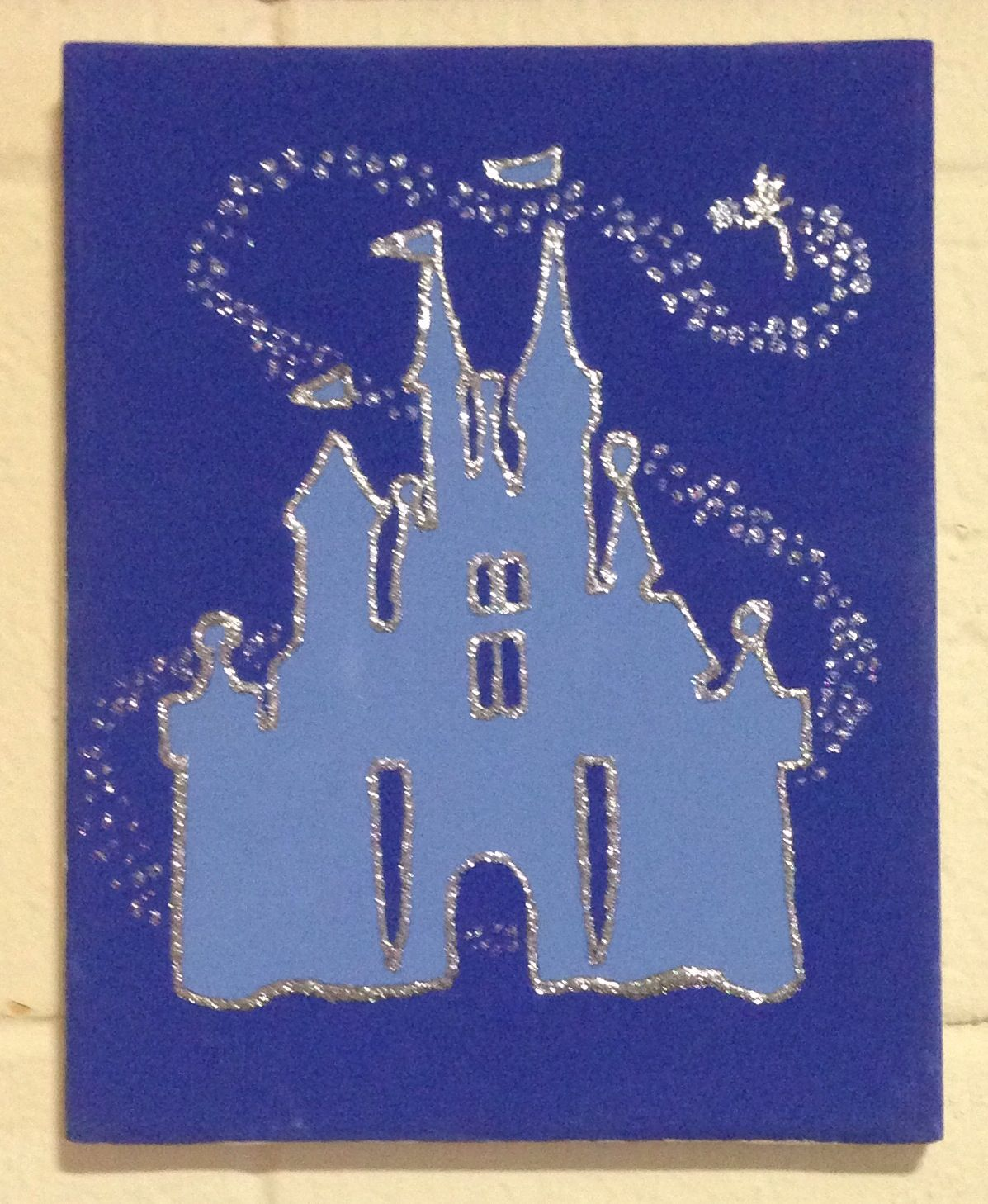 Pin By Kelly Dillon On My Crafty Creations Disney Crafts Canvas Crafts Diy Painting