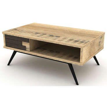 Table basse ETHNICA - pas cher ? Cu0027est sur Conforamafr - large