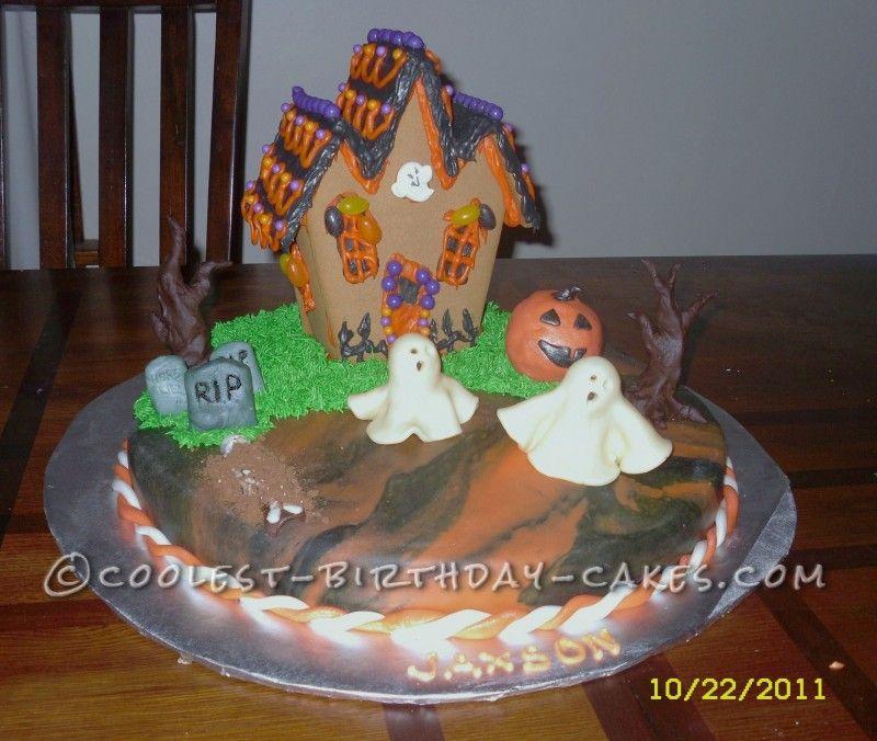 Spooky Halloween Cake Spooky halloween cakes, Halloween cakes and - halloween birthday cake ideas
