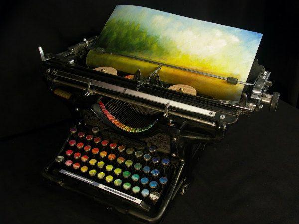 typewriter note dispenser - Google Search