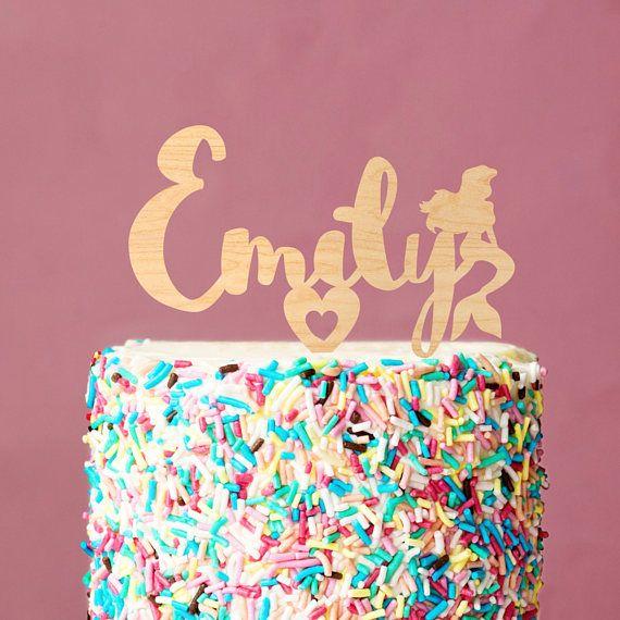 Cake topperlittle mermaid cake toppermermaid cake topperlittle
